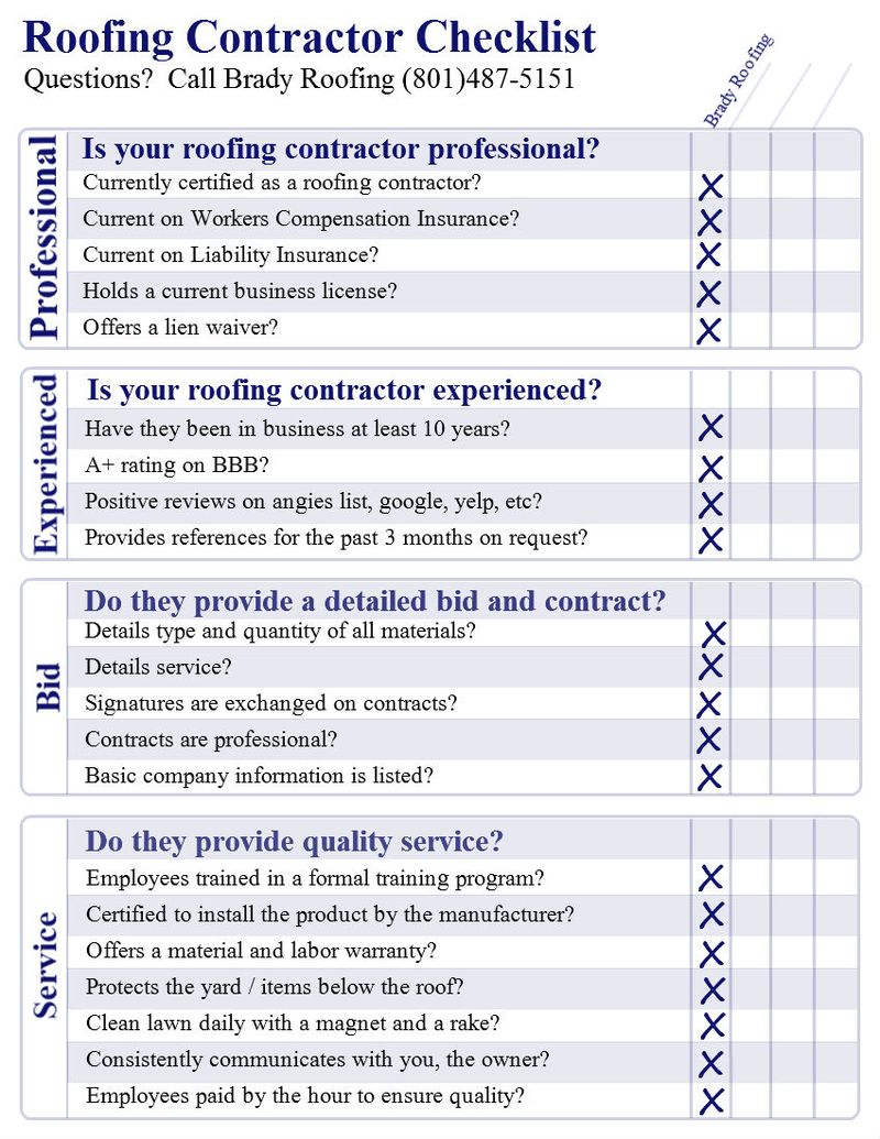 Roofing-Contractor-Checklist
